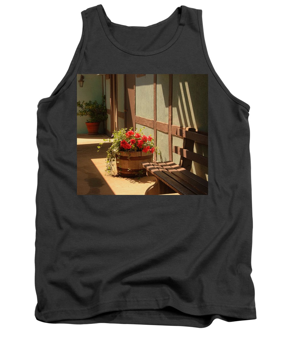 Photography Tank Top featuring the photograph A Sunny Spot by Susanne Van Hulst