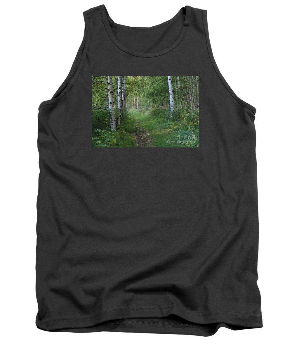 A Suspended Silence Tank Top featuring the photograph A Suspended Silence Where The Wild Things Are by Sharon Mau