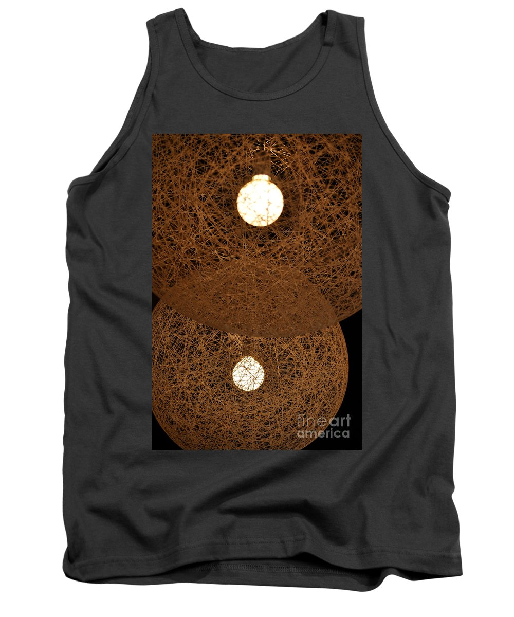 Clay Tank Top featuring the photograph A Web Of Photons by Clayton Bruster