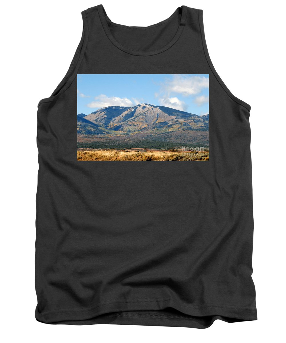 Abajo Mountains Utah Tank Top featuring the photograph Abajo Mountains Utah by David Lee Thompson