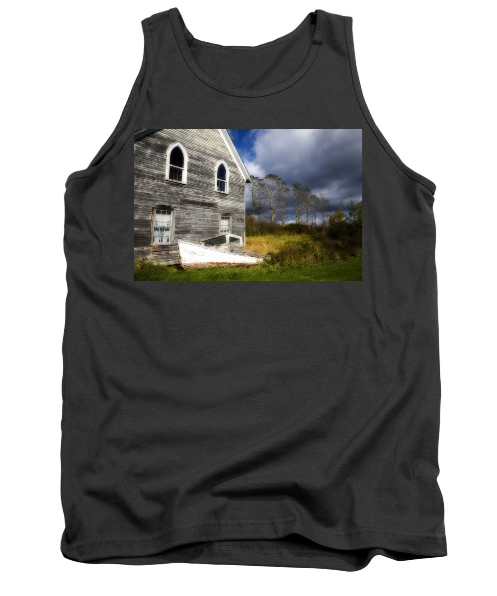 Abandoned Tank Top featuring the photograph Abandoned by Eggers Photography