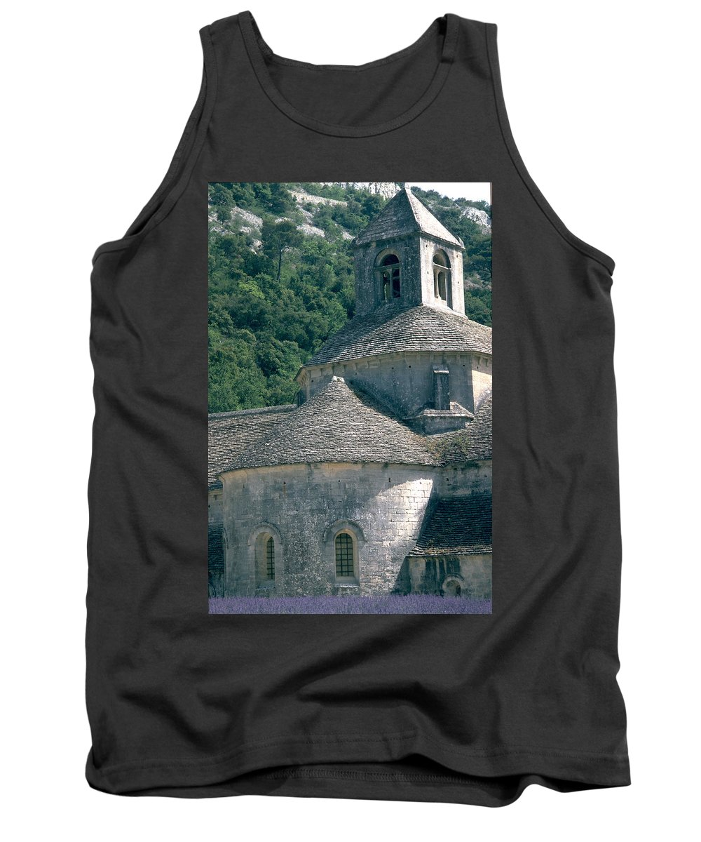 Abbeye De Senanque Tank Top featuring the photograph Abbeye De Senanque by Flavia Westerwelle