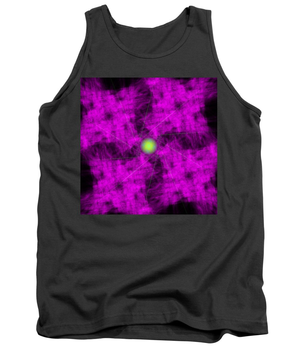 Abstract Tank Top featuring the digital art Aberdanism by Andrew Kotlinski