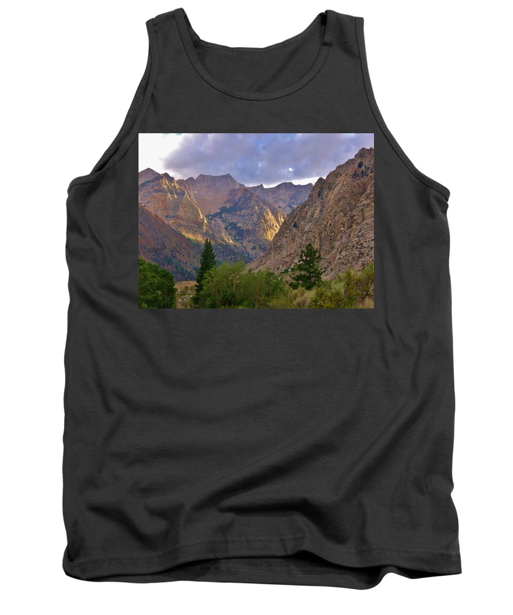 Sky Tank Top featuring the photograph About The Light by Marilyn Diaz
