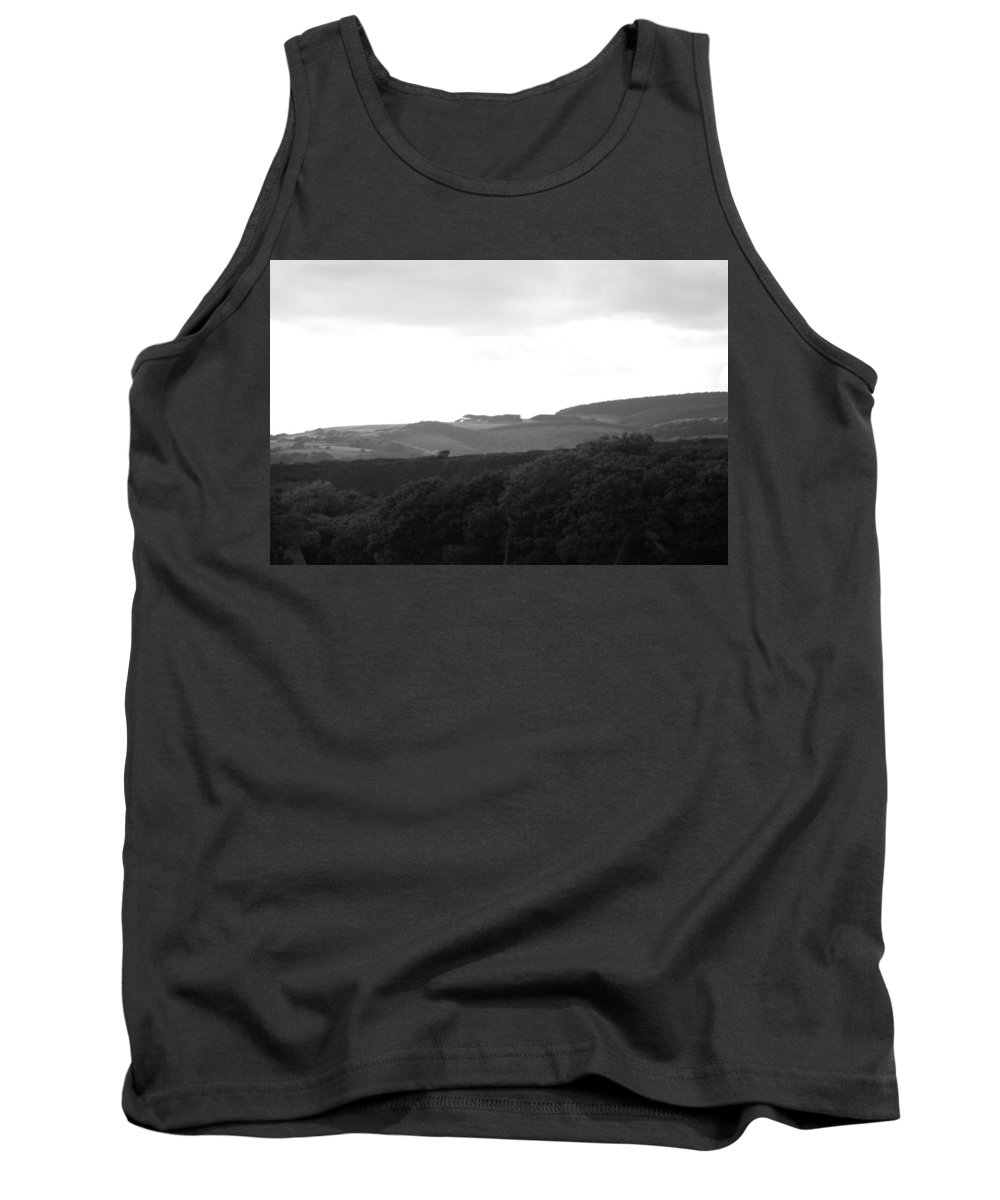 Non_city Tank Top featuring the photograph Above The Trees by Frances Lewis