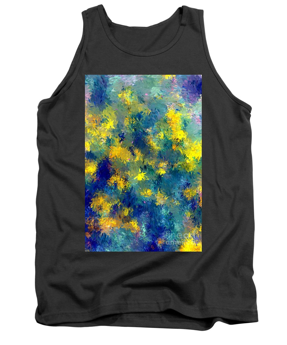Abstract Tank Top featuring the photograph Abstract 06-28-09 by David Lane