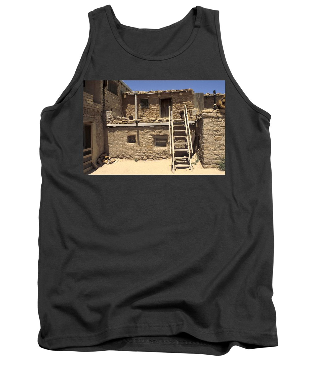 Acoma Tank Top featuring the photograph Acoma Pueblo by Jerry McElroy