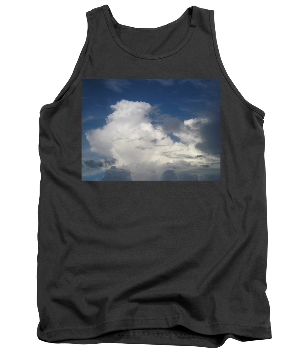 Clouds Tank Top featuring the photograph After The Rain by Maria Bonnier-Perez