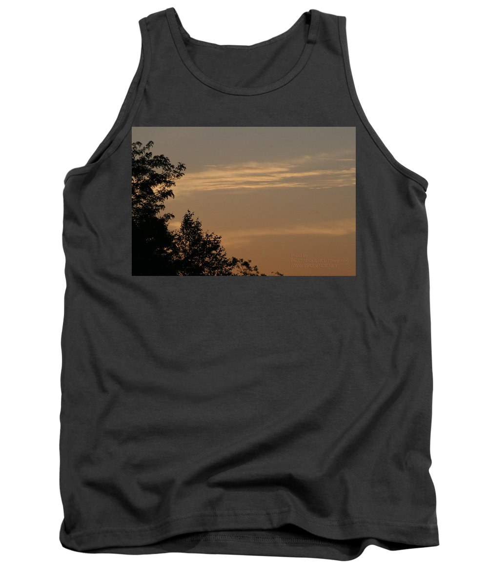 Sky Tank Top featuring the photograph After The Rain by Paul SEQUENCE Ferguson       sequence dot net