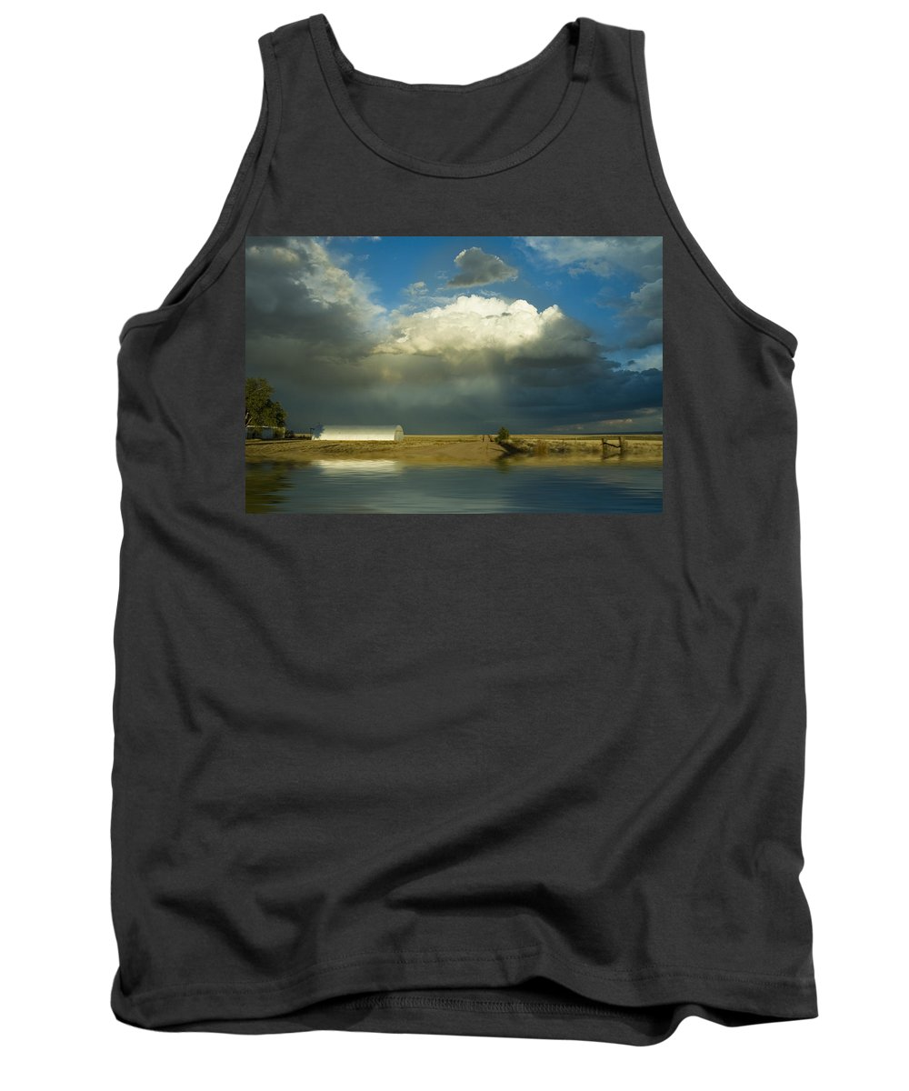 Storm Tank Top featuring the photograph After The Storm by Jerry McElroy