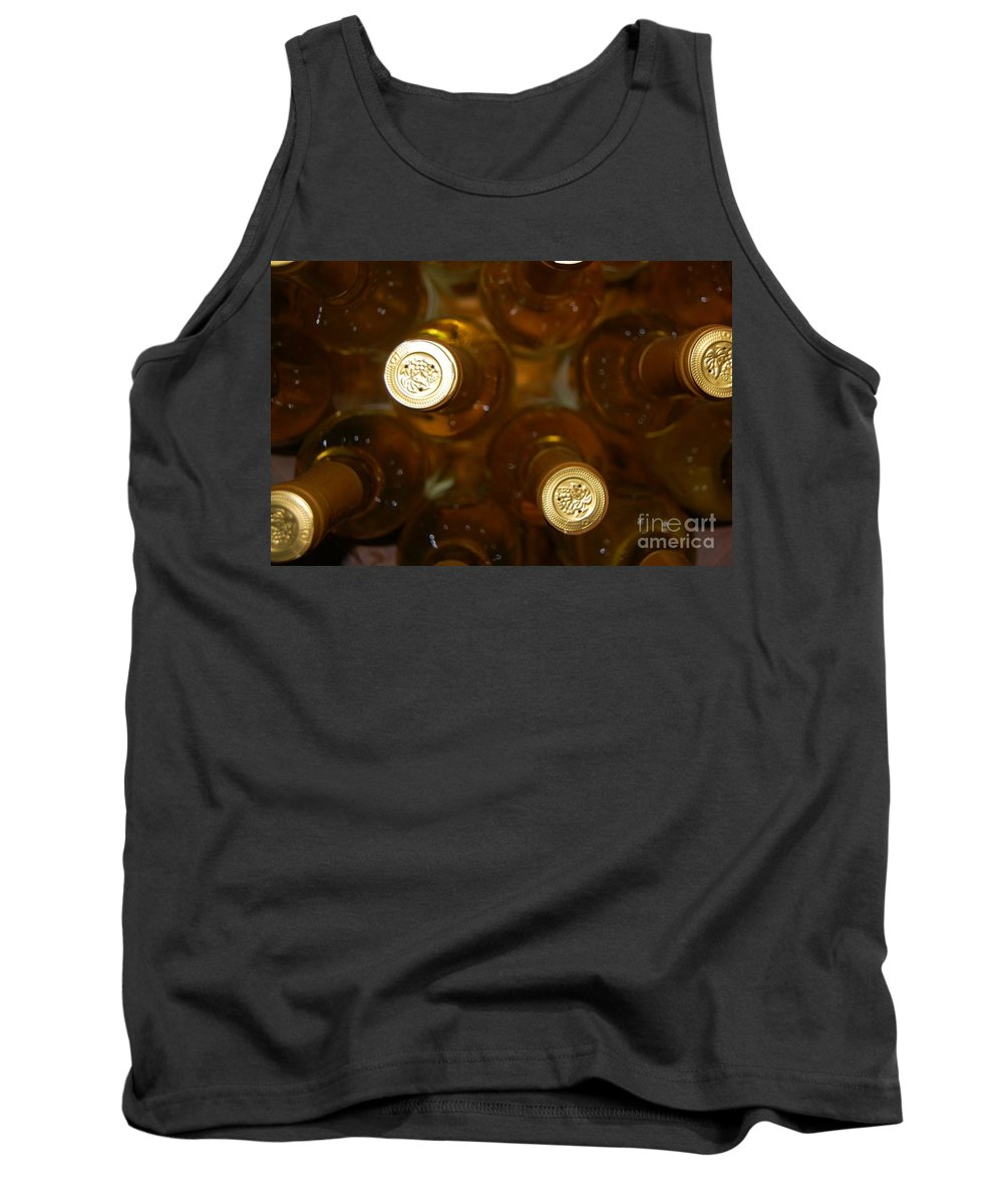 Wine Tank Top featuring the photograph Aged Well by Debbi Granruth