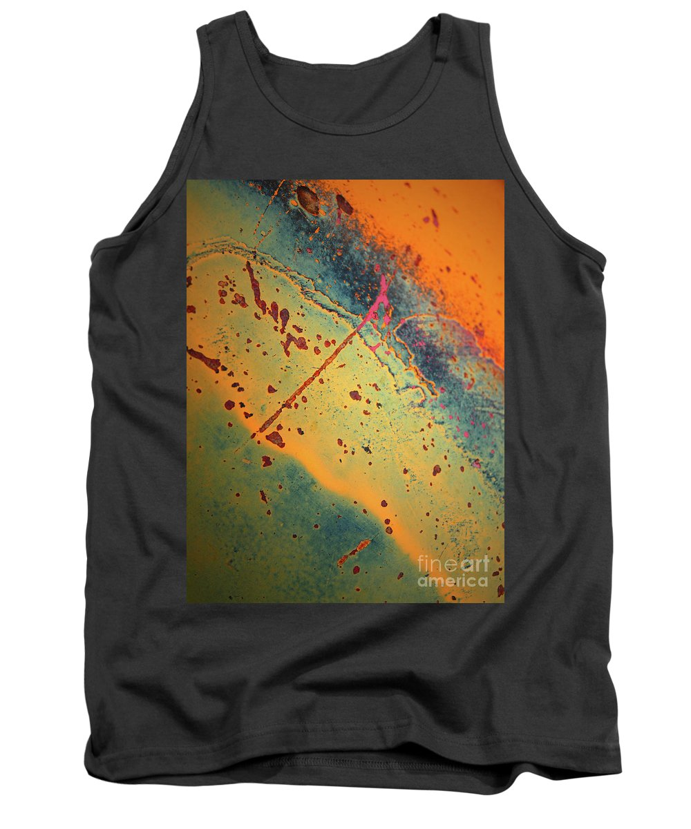 Urban Tank Top featuring the photograph Aging In Colour 3 by Tara Turner