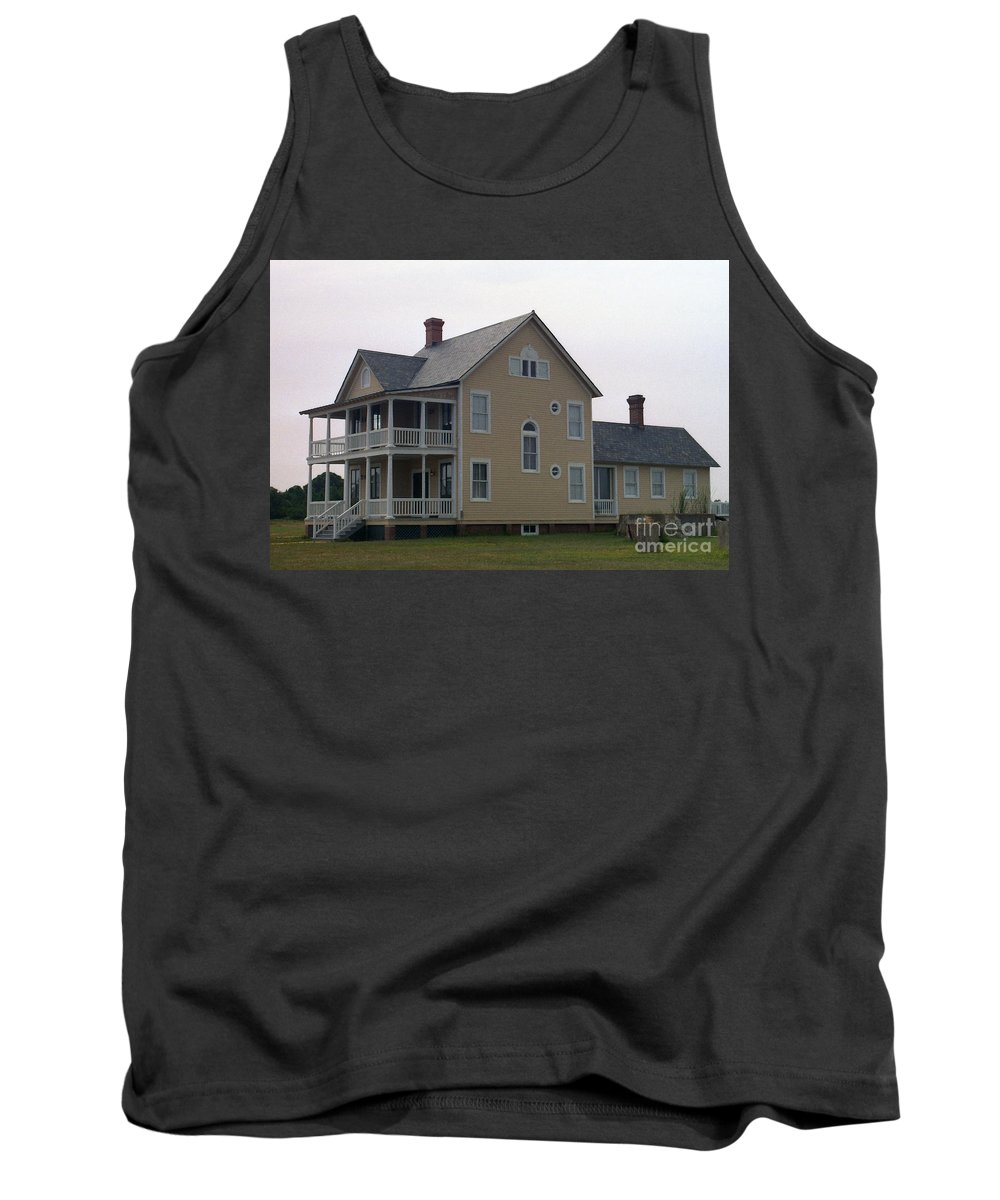 Alabama Tank Top featuring the digital art Alabama Coastal Home by Richard Rizzo