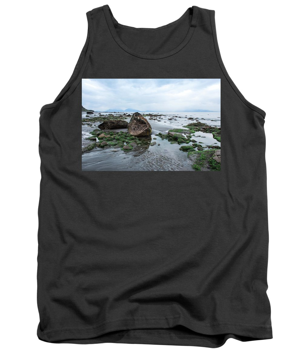 Alaskan Shoreline Tank Top featuring the photograph Alaskan Shoreline by Melanie Bess