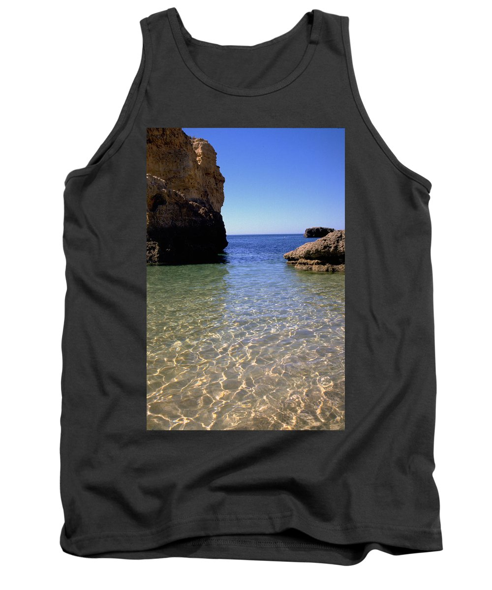 Algarve Tank Top featuring the photograph Algarve I by Flavia Westerwelle