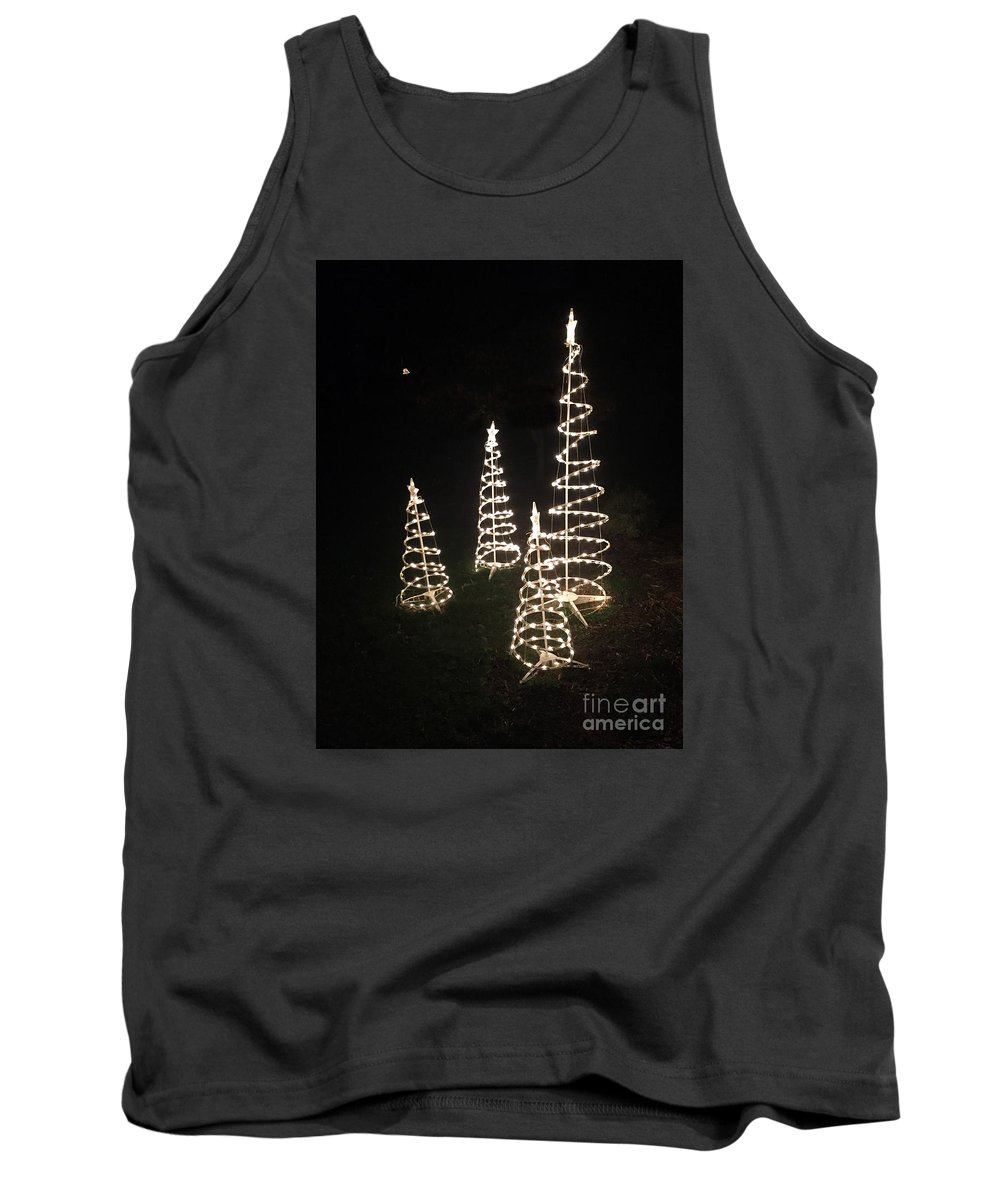 Christmas Tank Top featuring the photograph All Is Bright by Rick Locke
