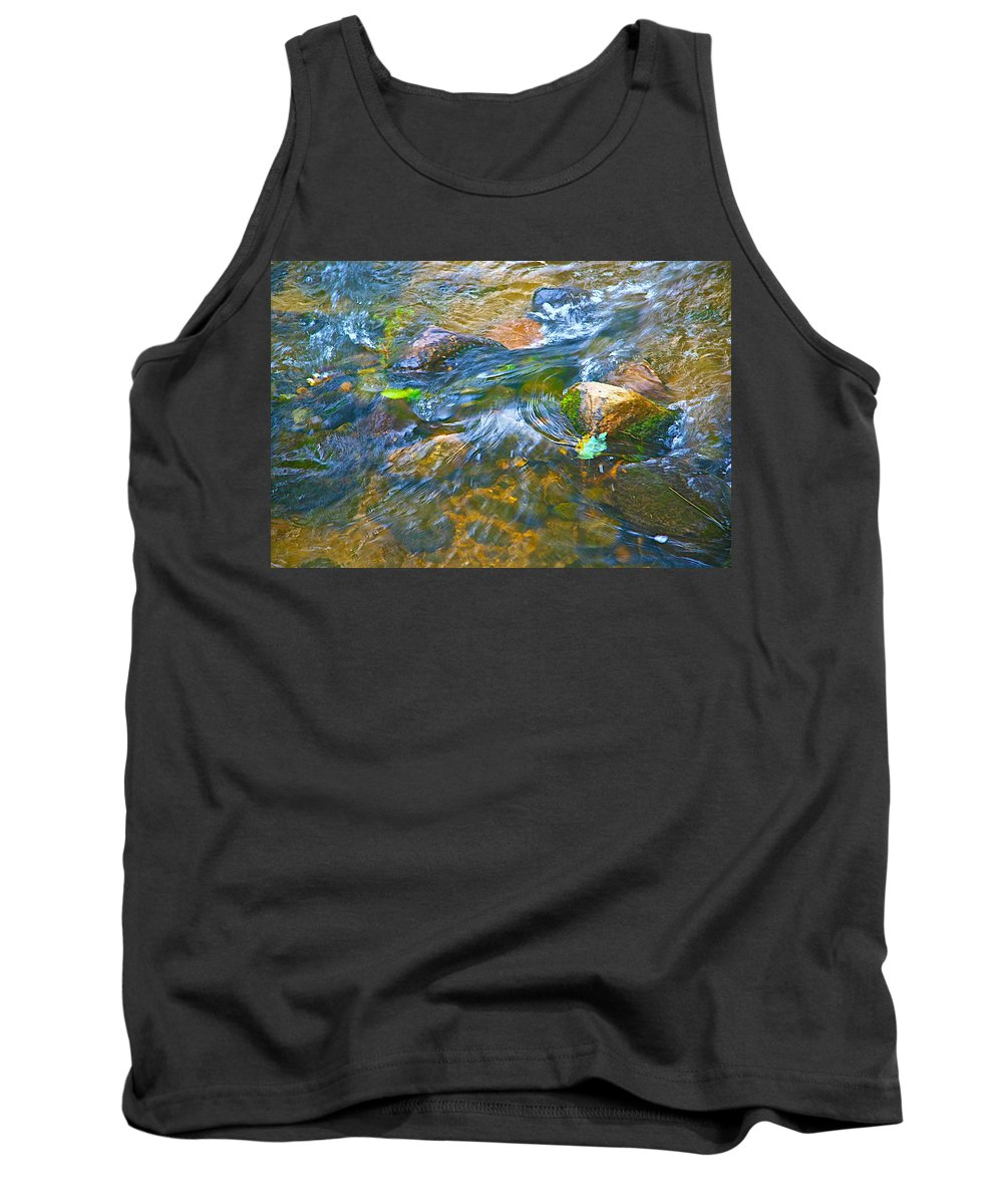 Color Tank Top featuring the photograph All Those Colors by Robert Pearson