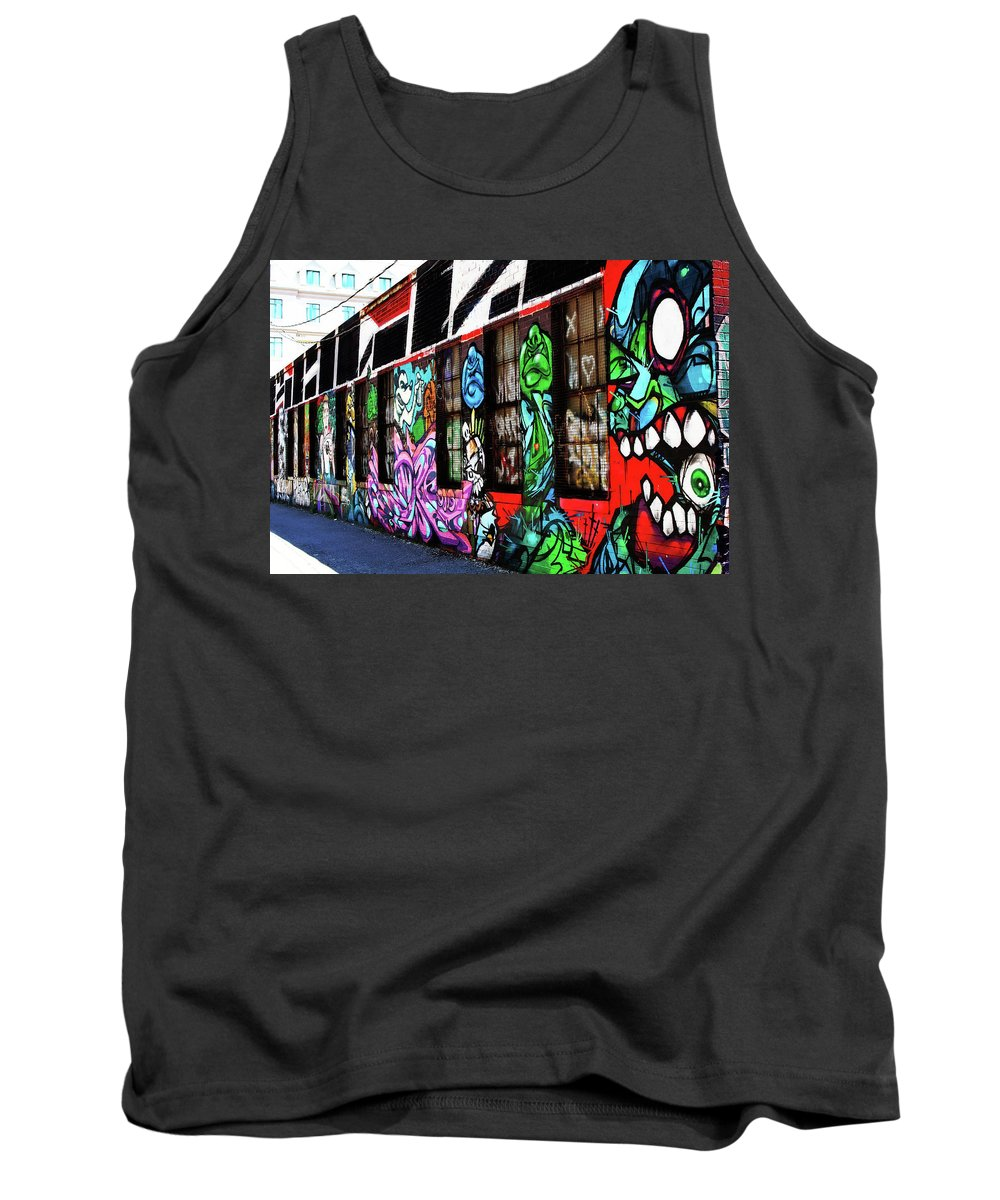 Tank Top featuring the photograph Alley by Shawn Clarke