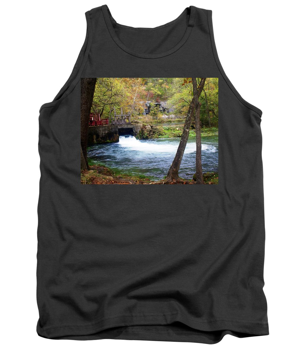 Alley Spring Tank Top featuring the photograph Alley Spring by Marty Koch