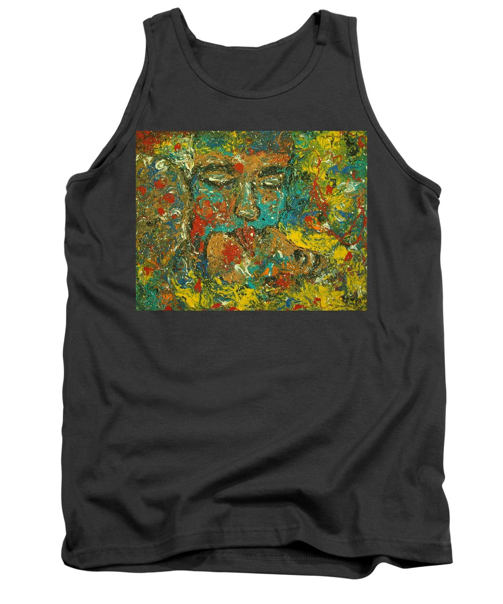 Romantic Tank Top featuring the painting Allure Of Love by Natalie Holland