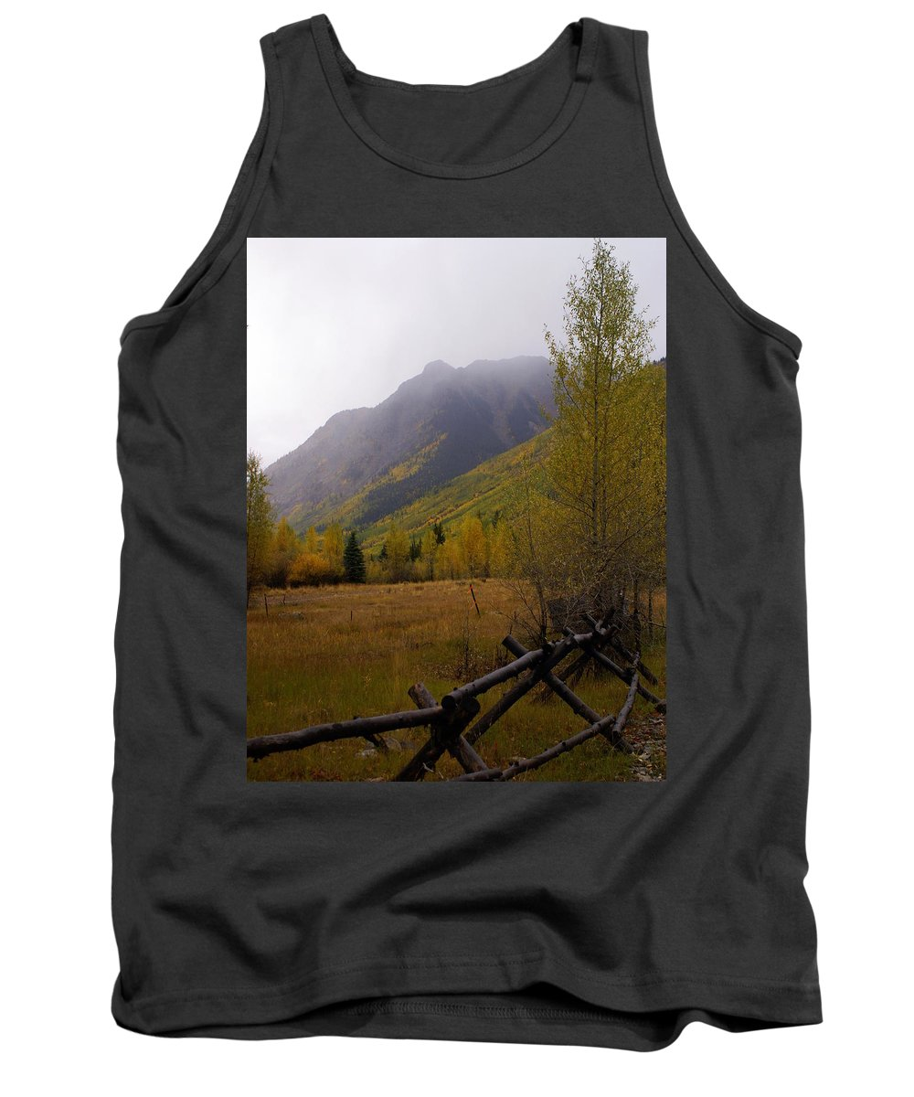 Colorado Tank Top featuring the photograph Along The Alpine Loop by Marty Koch