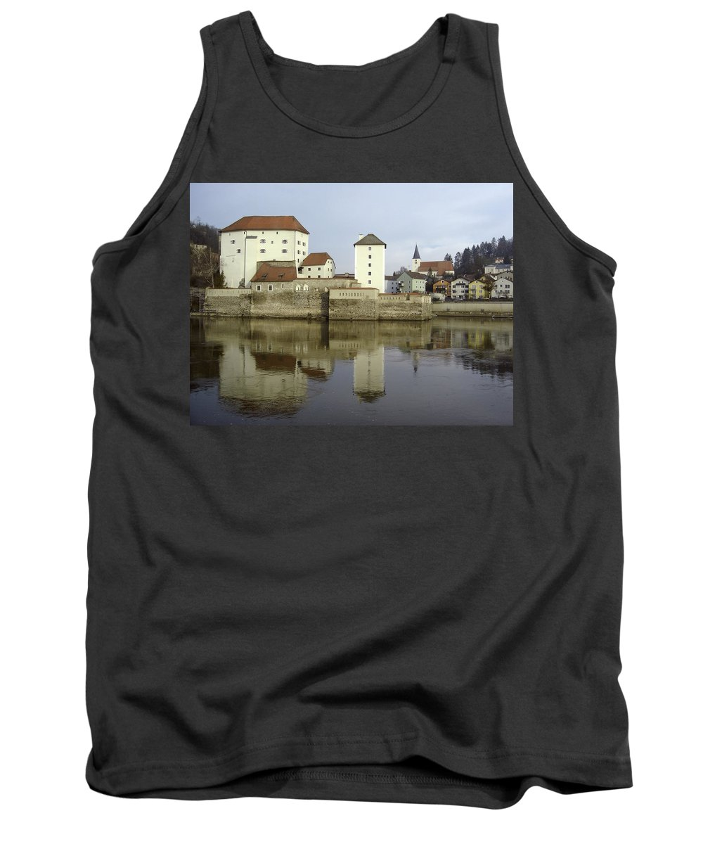 River Tank Top featuring the photograph Along The Danube by Mary Rogers