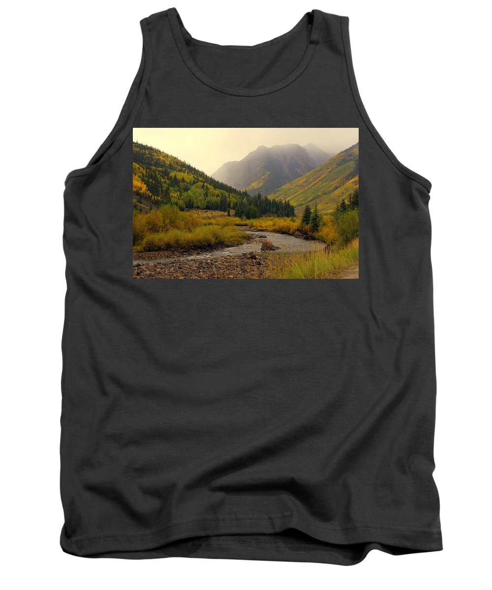 Colorado Tank Top featuring the photograph Alpine Loop Fall by Marty Koch