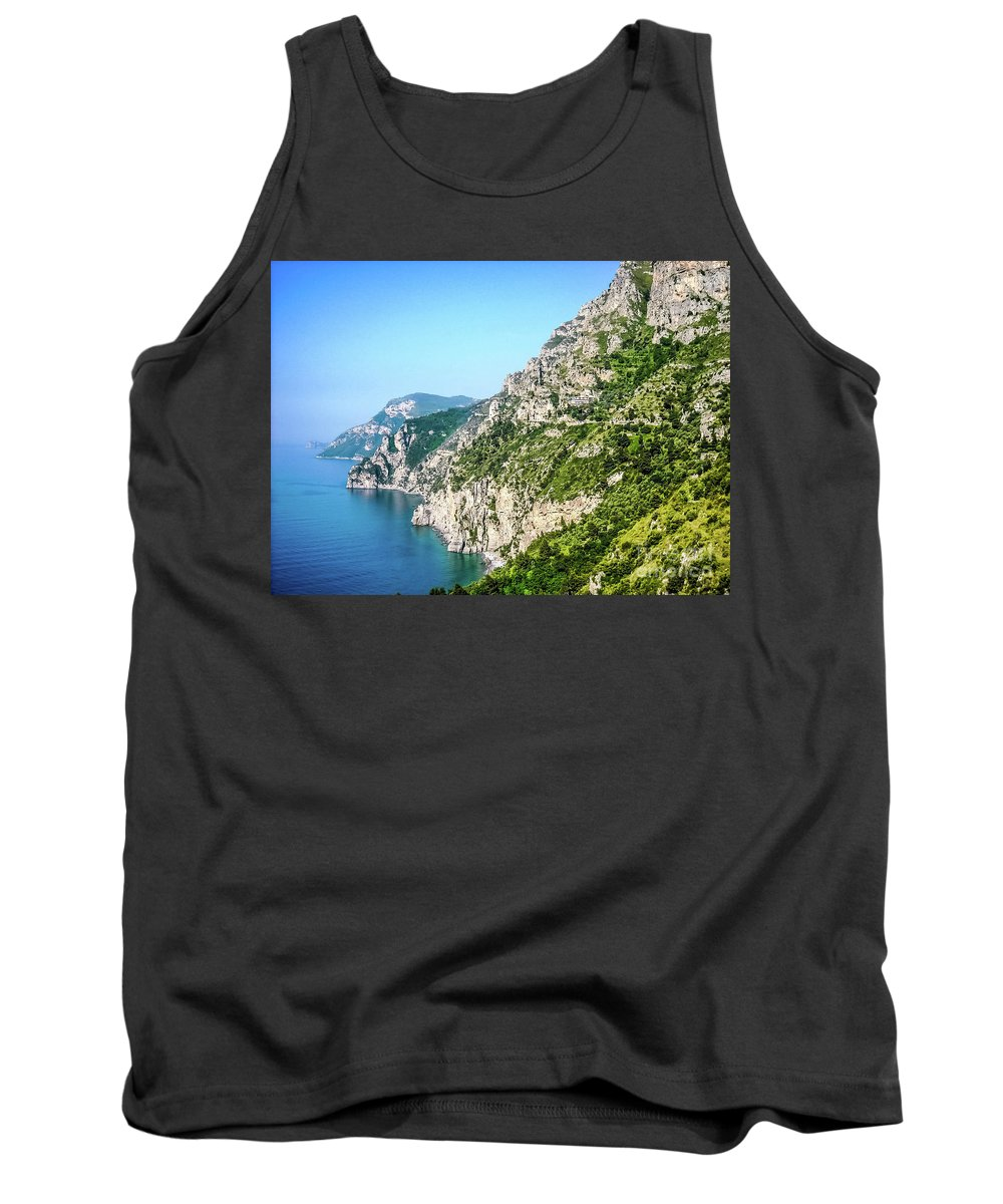 Isle Of Capri Tank Top featuring the photograph Amalfi Splendor by Lisa Kilby