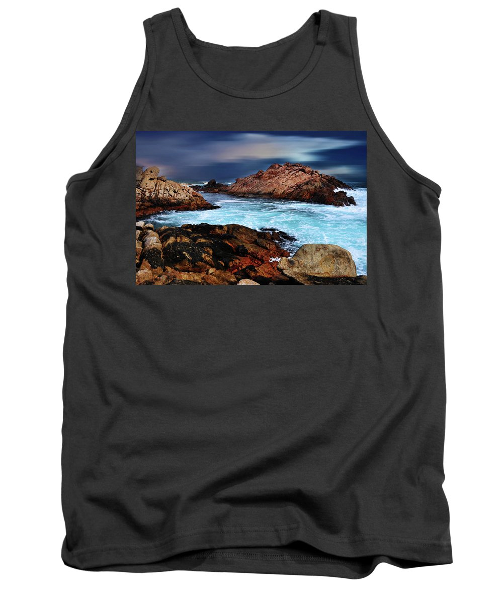 Landscapes Tank Top featuring the photograph Amazing Coast by Phill Petrovic