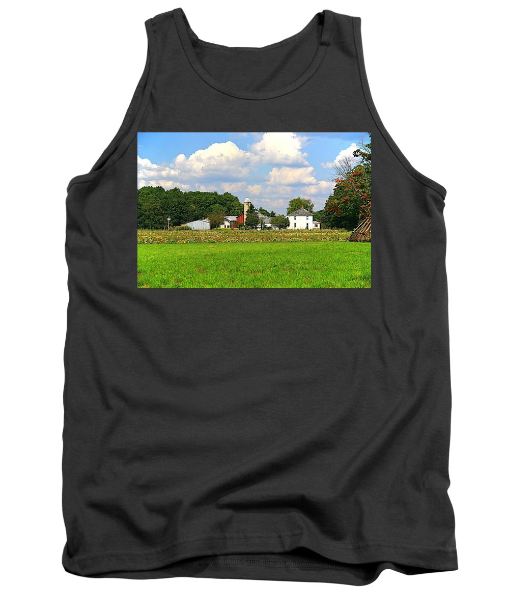 Farm Tank Top featuring the photograph Americas Bread And Butter by Robert Pearson