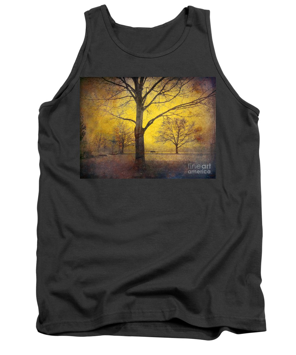 Trees Tank Top featuring the photograph Amongst Friends by Tara Turner