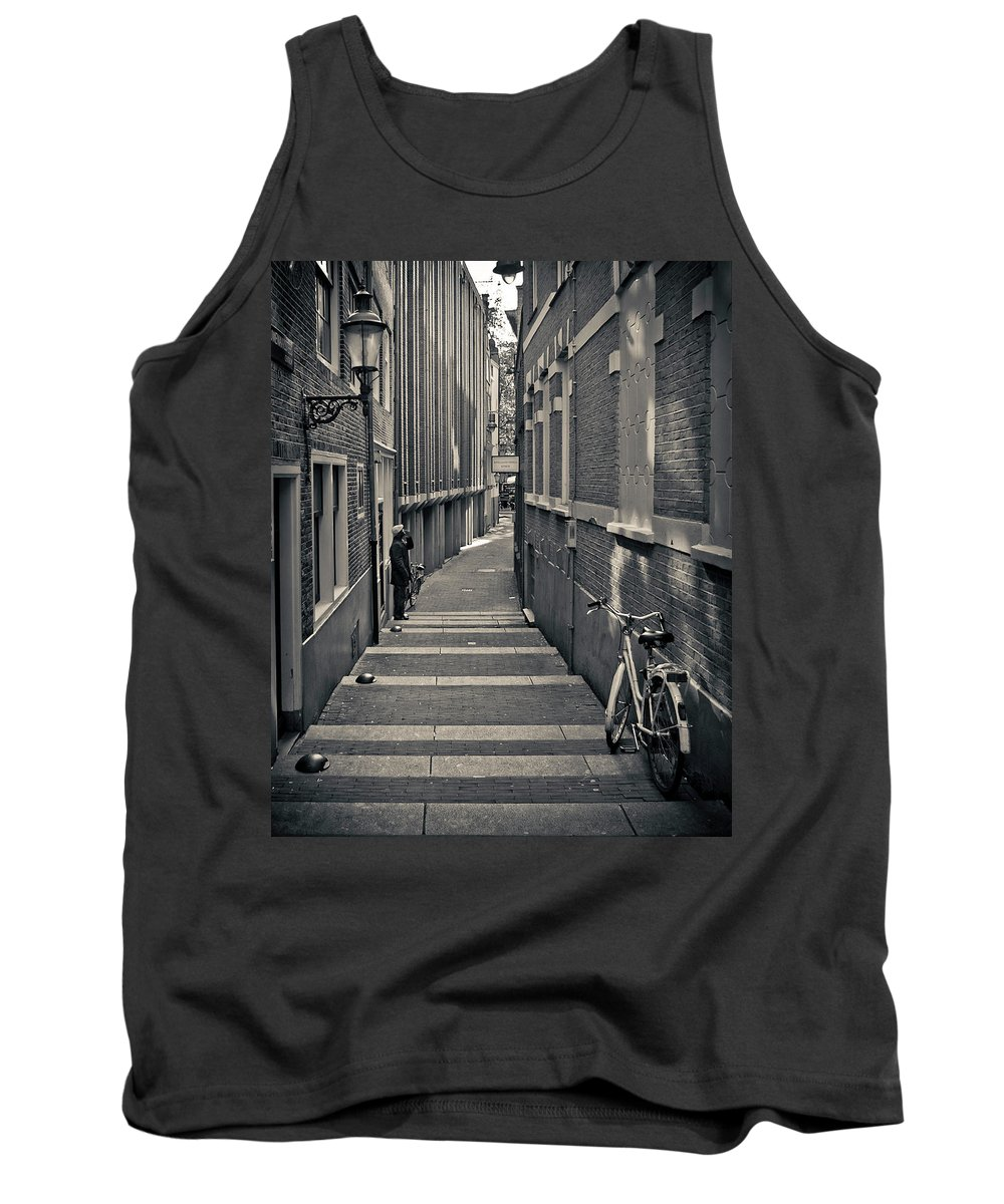 3scape Photos Tank Top featuring the photograph Amsterdam by Adam Romanowicz
