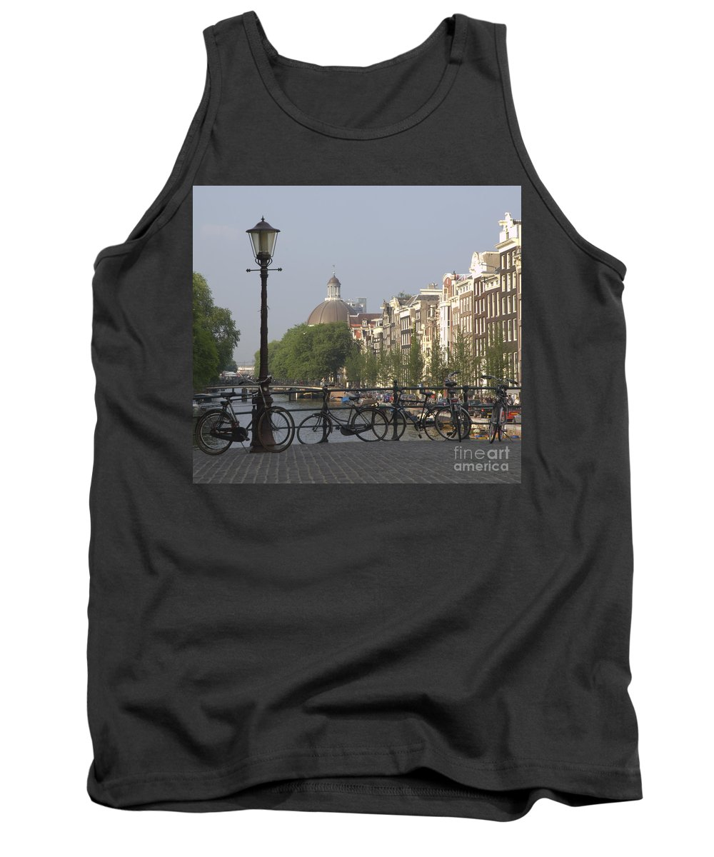 Amsterdam Tank Top featuring the photograph Amsterdam Bridge by Andy Smy