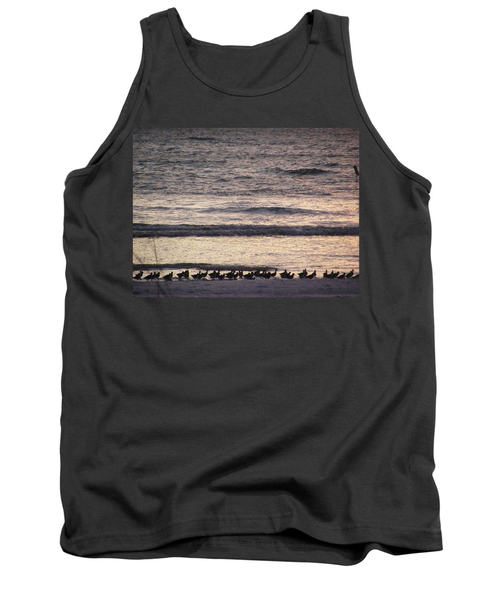 Evening Stroll Tank Top featuring the photograph An Evening Stroll by Ed Smith