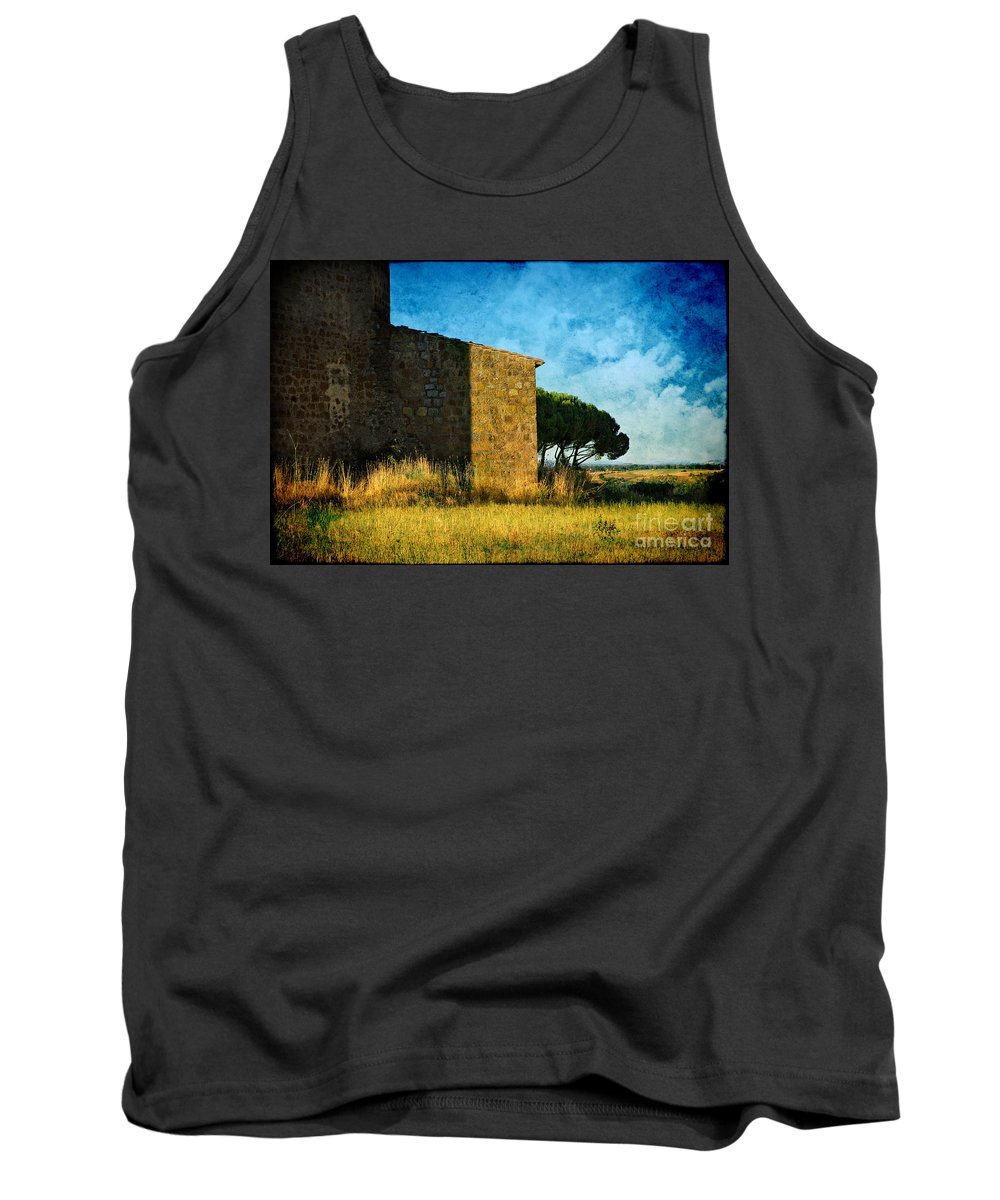 Ancient Tank Top featuring the photograph Ancient Church - Italy by Silvia Ganora