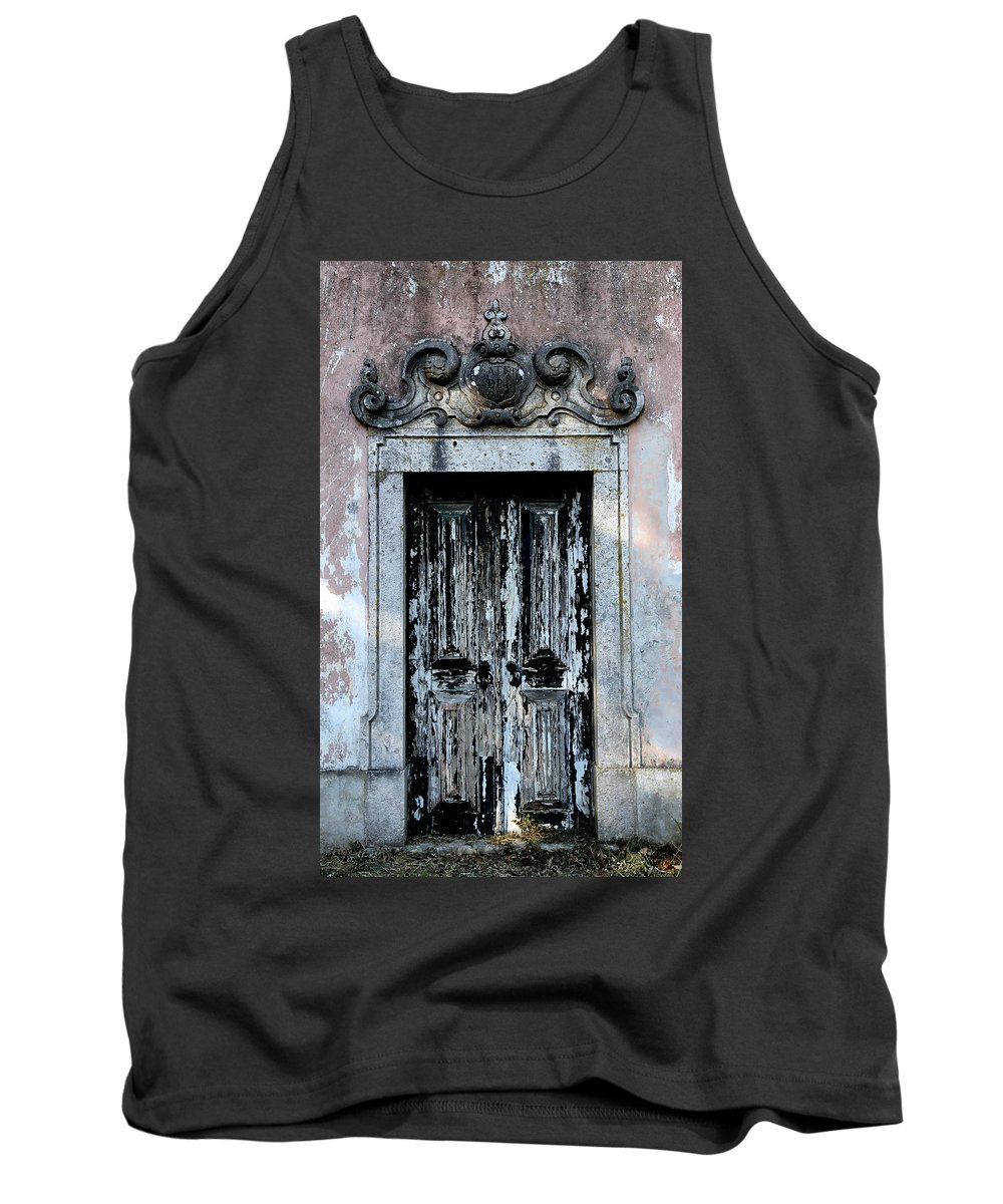 Door Tank Top featuring the photograph Ancient Door 3 by Andrew Fare