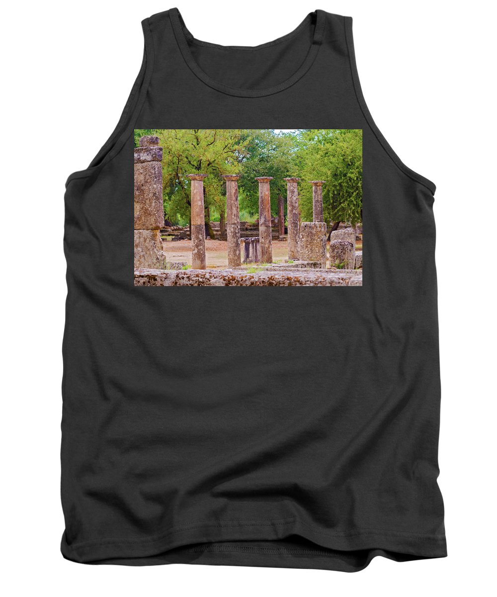 Greece Tank Top featuring the photograph Ancient Olympia, Greece. by Marek Poplawski