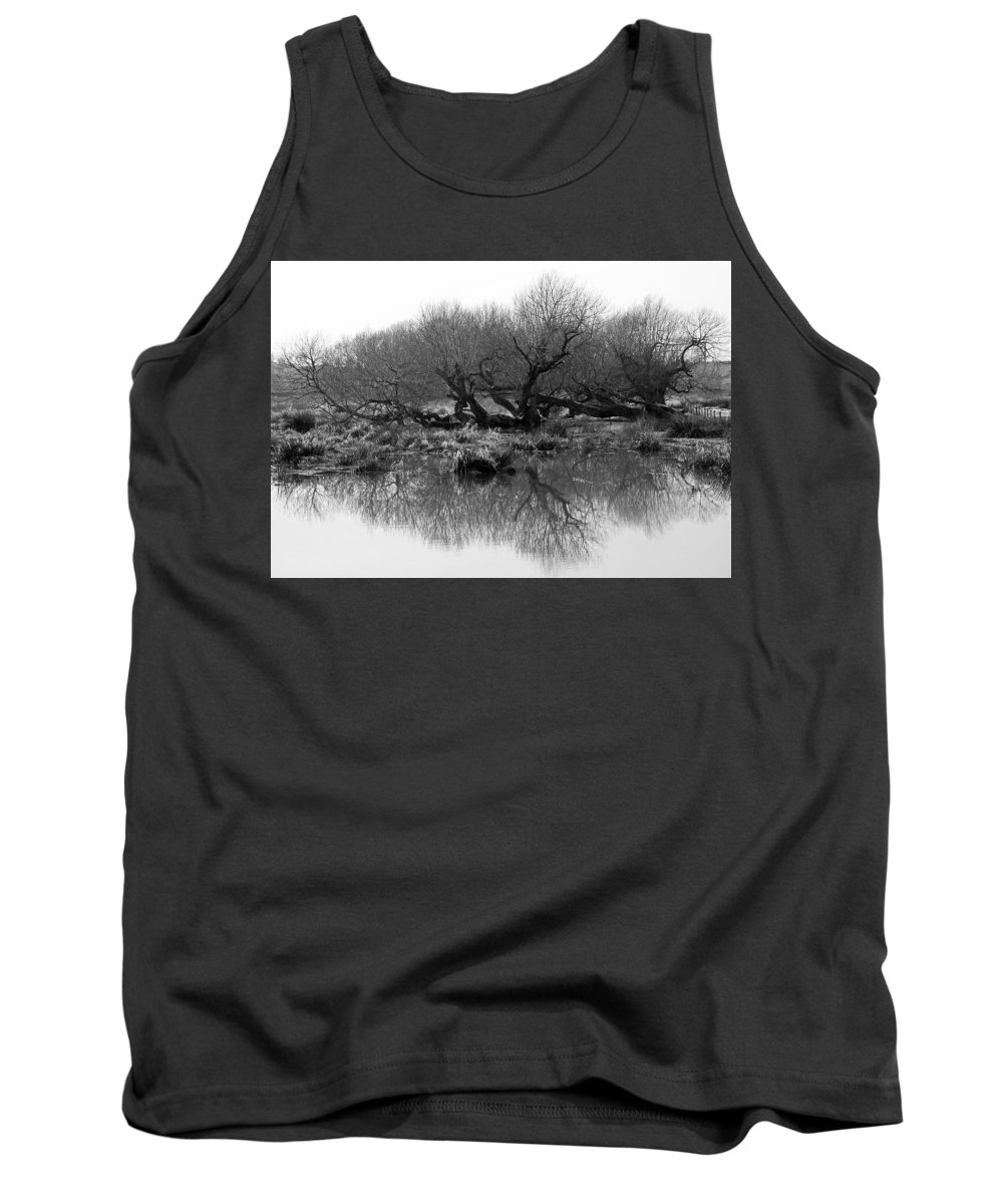 Trees Tank Top featuring the photograph Ancient Pollard Trees by Bob Kemp
