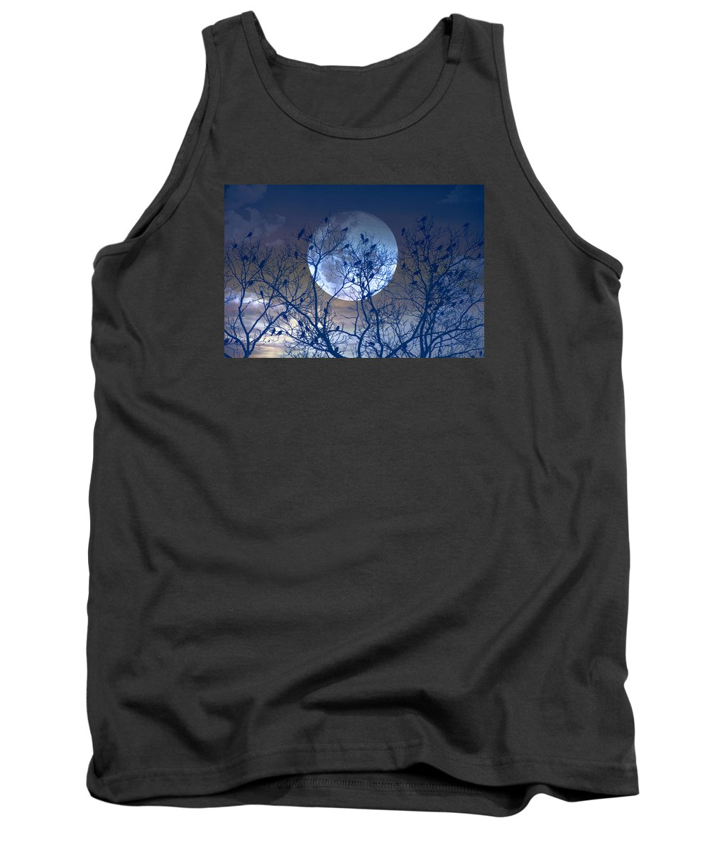 Night Tank Top featuring the photograph And Now Its Time To Say Goodnight by John Rivera