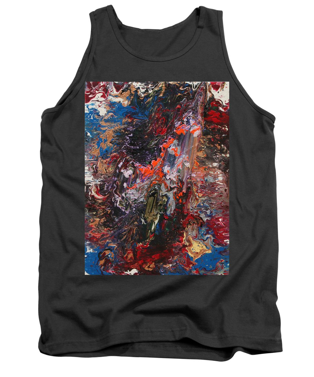 Fusionart Tank Top featuring the painting Angel Rising by Ralph White