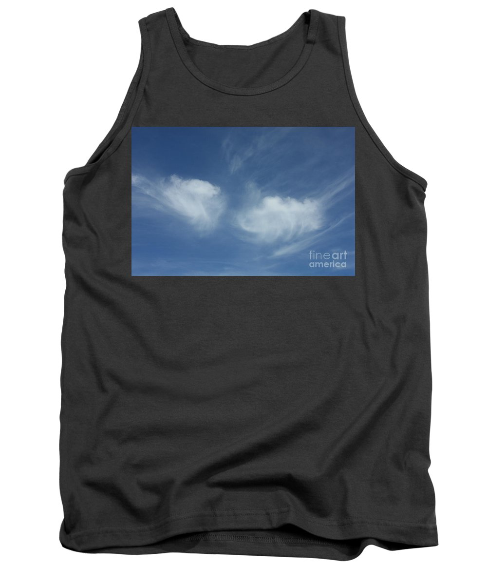 Angel Wings Tank Top featuring the photograph Angel Wings In The Sky by Carol Groenen