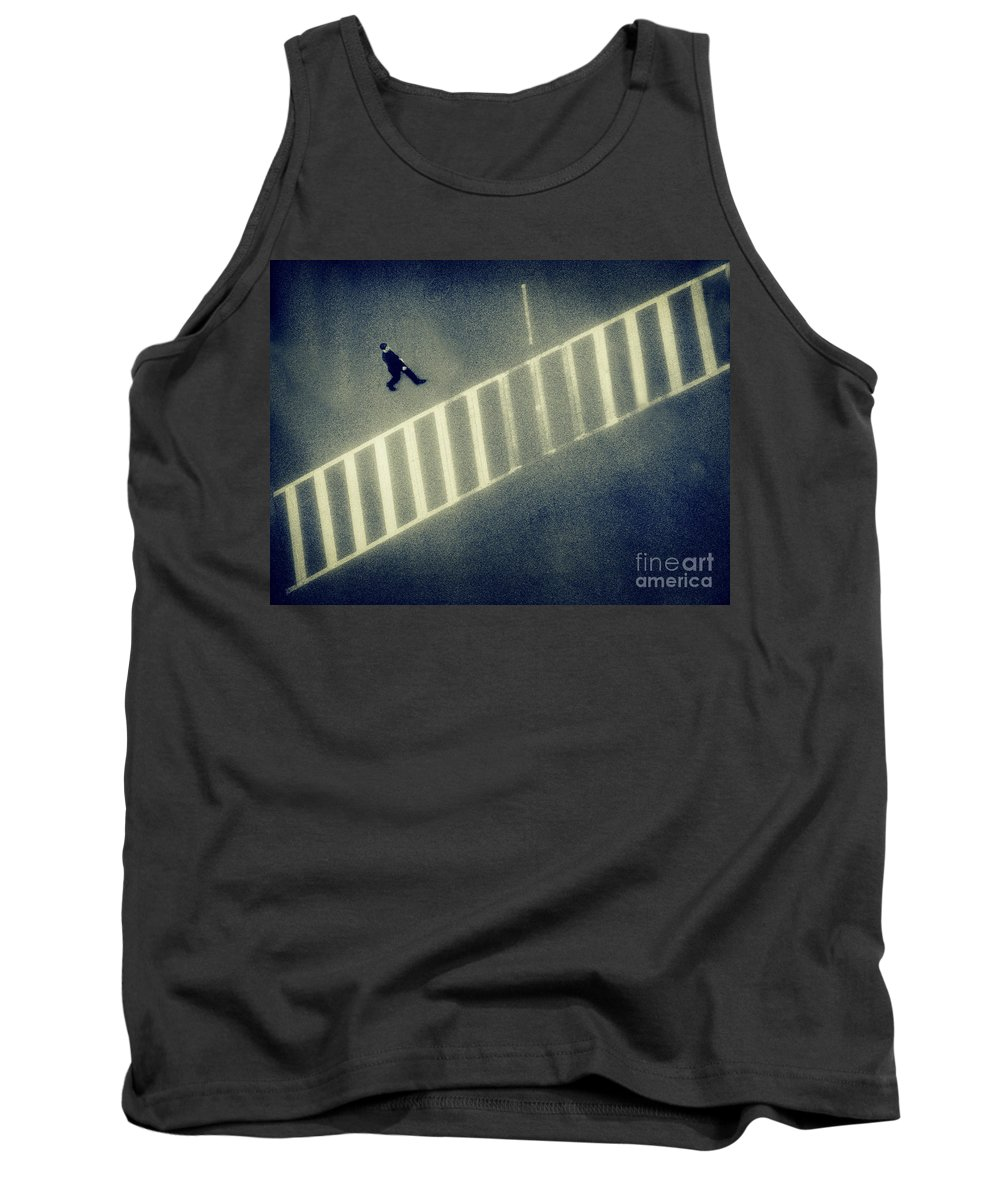 City Tank Top featuring the photograph Anonymity by Dana DiPasquale