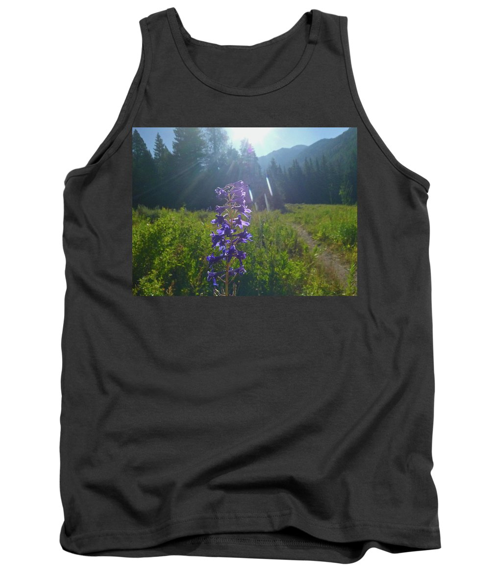 Sun Valley Tank Top featuring the photograph Another Angel On My Shoulder by Dan Dixon
