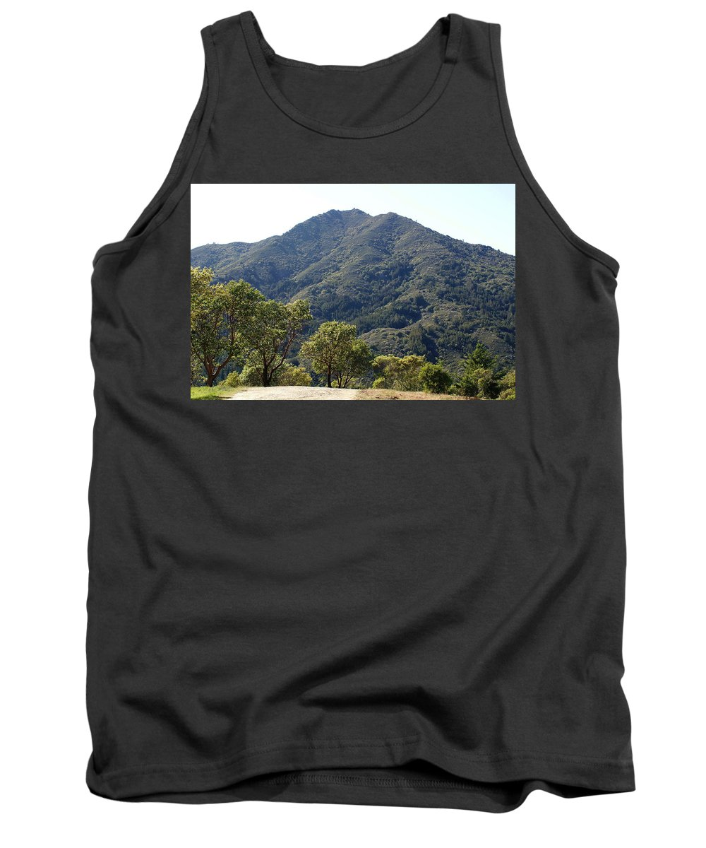 Mount Tamalpais Tank Top featuring the photograph Another Side Of Tam 2 by Ben Upham III