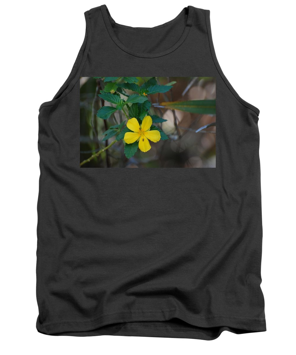 Macro Tank Top featuring the photograph Ant Flowers by Rob Hans