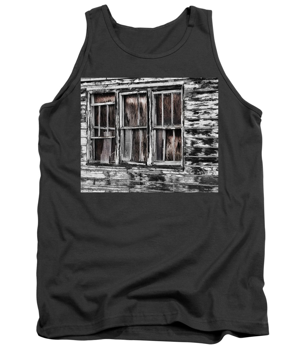Tank Top featuring the photograph Antique Windows by Blake Richards