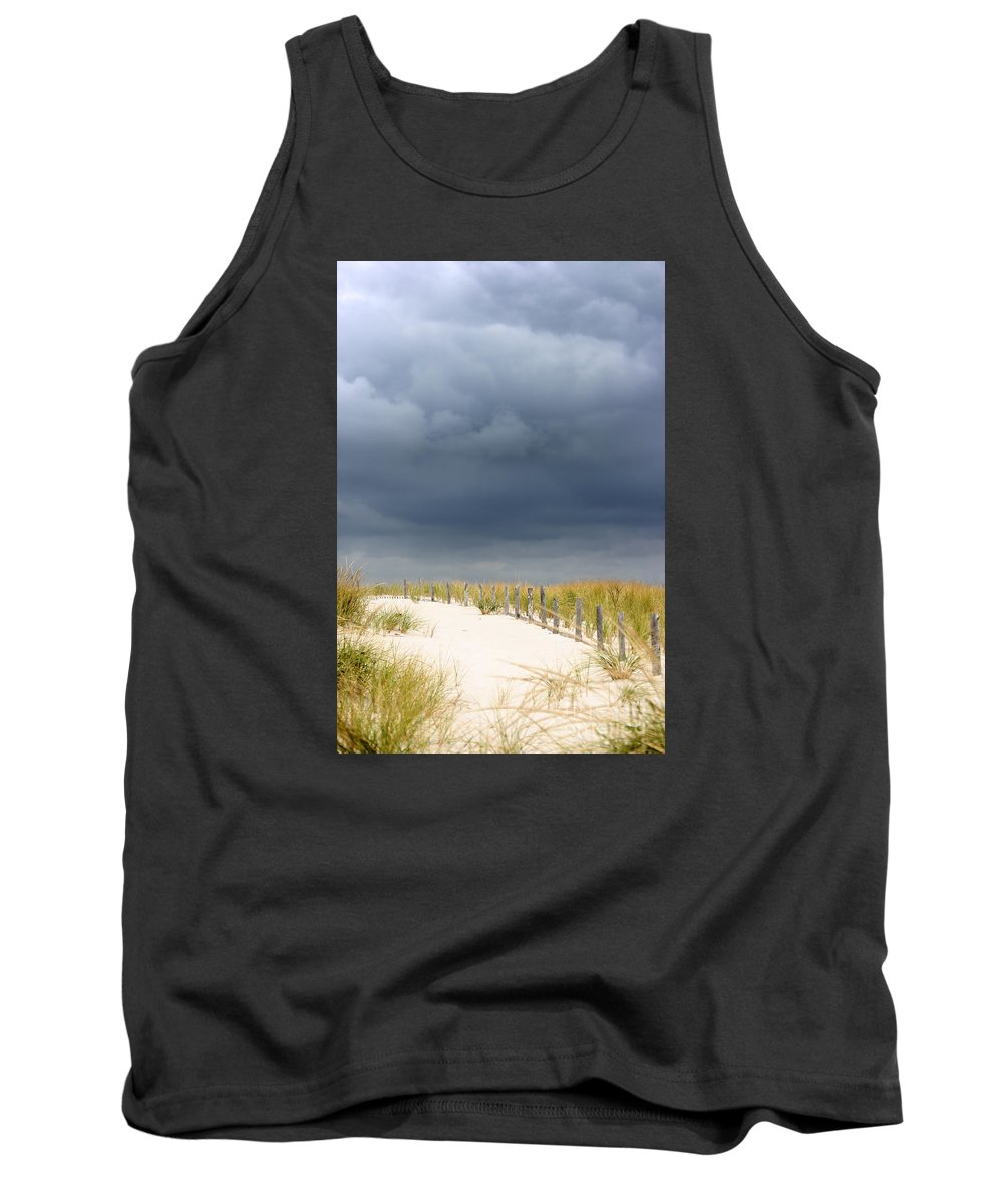 Beach Tank Top featuring the photograph Around The Bend by Dana DiPasquale