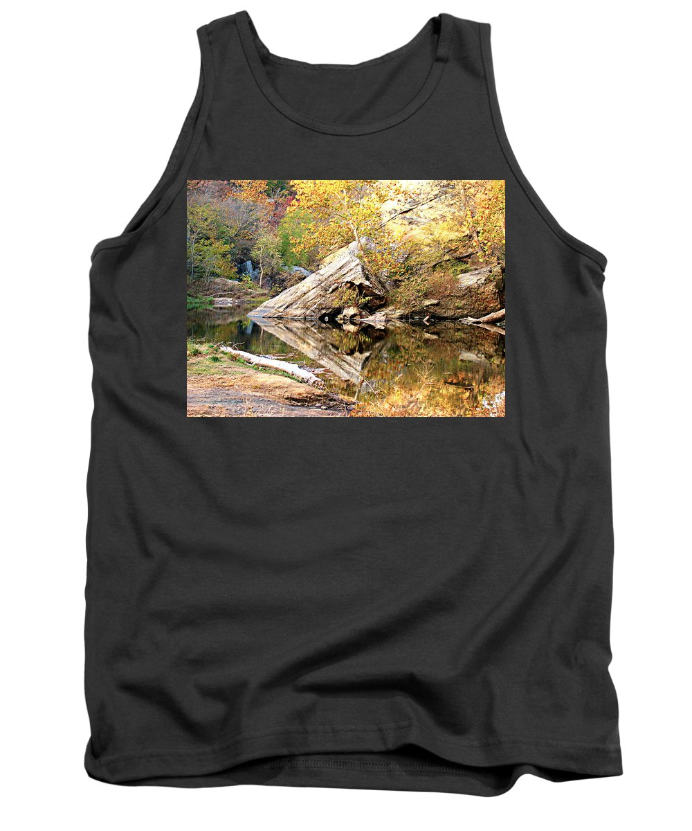 Arrow Rock Tank Top featuring the photograph Arrow Rock by Terry Anderson