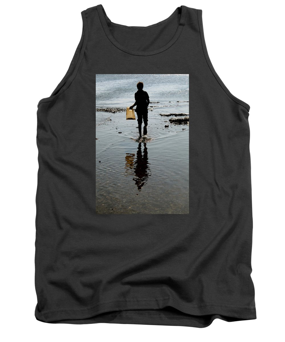 Hurghada Tank Top featuring the photograph as I walk I bring what i have by Jez C Self