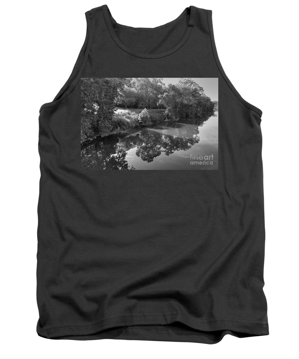 James River Tank Top featuring the photograph At Peace by Todd Hostetter